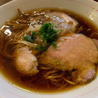 しもふり中華そば(麺屋KABOちゃん)