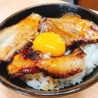 チャーシュー丼(らーめん信玄 花川本店 (らーめんしんげん))