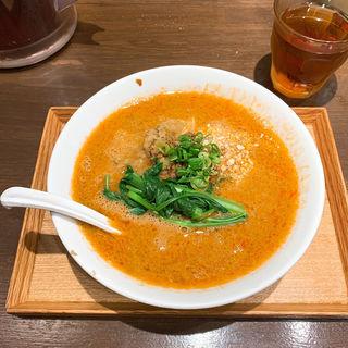 汁あり担々麺(六坊担担面)