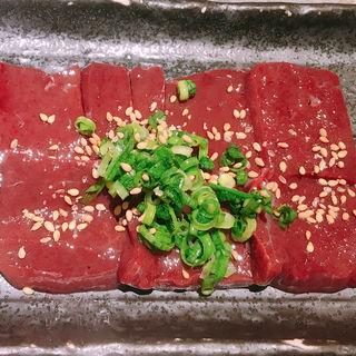 超新鮮炙りレバー(博多焼肉 玄風館 龍 恵比寿店)
