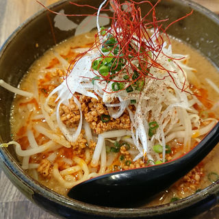 濃厚胡麻みそ担々麺(ど・みそ 西新井店)