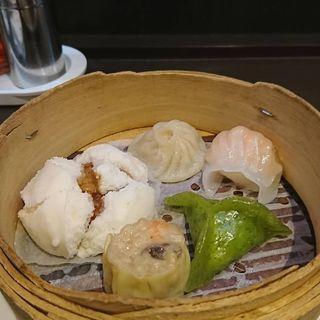 点心5種盛り(中国料理 龍亭)