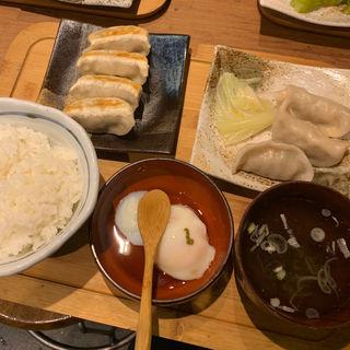 肉汁餃子ライス(ランチ限定)(肉汁餃子製作所 ダンダダン酒場 池袋店 )