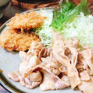 生姜焼きセット(とんかつ藤芳 本店 )