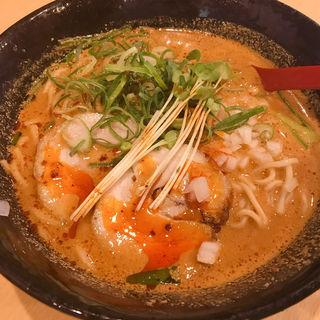 麻辣坦々麺(中も津屋 北浜店)