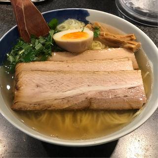 和風焼豚柳麺(麺屋ひょっとこ 銀座店)