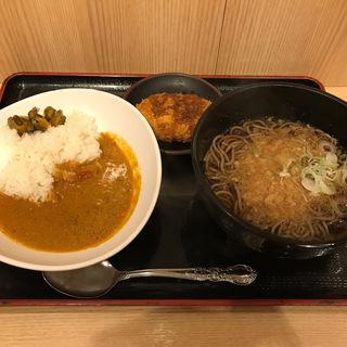 朝カレー定食(よもだそば 銀座店)