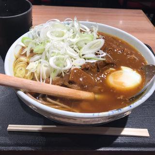 牛すじカレーそば(そば 俺のだし GINZA5)