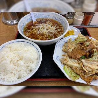 回鍋肉定食(福しん 新宿小滝橋店 )
