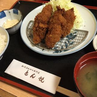 カキフライ定食(とん悦 (とんえつ))