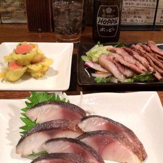 明太子の天ぷら(九州料理 マルキュウ )