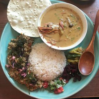 重ね2種(Curry&Spice青い鳥)