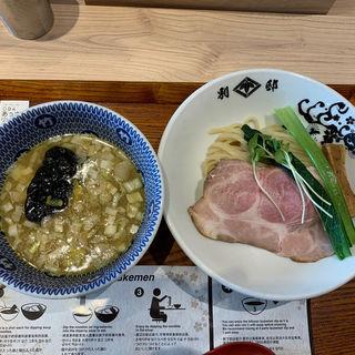 あっさり鶏豚骨(つけ麺) 並(別邸 たけ井)