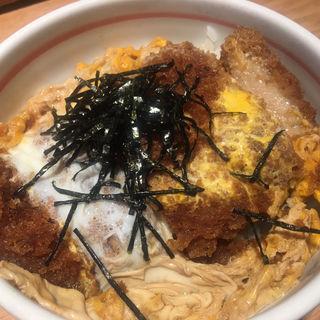 カツ丼(山半)