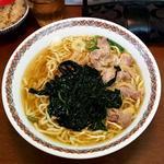 三陸わかめチャーシュー麺