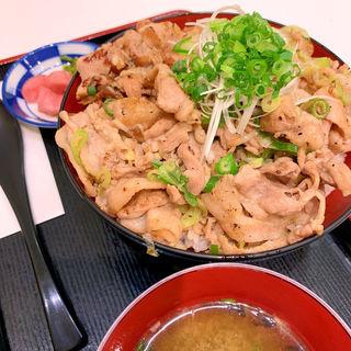 米沢三元豚のねぎ塩豚丼(米沢 琥珀堂 ラゾーナ川崎店)