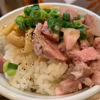 チャーシュー丼(麺や 一想)
