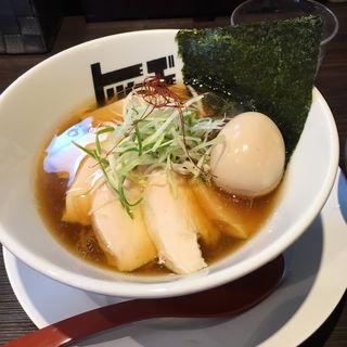 特製醤油ラーメン(らぁめん トリカヂ イッパイ )