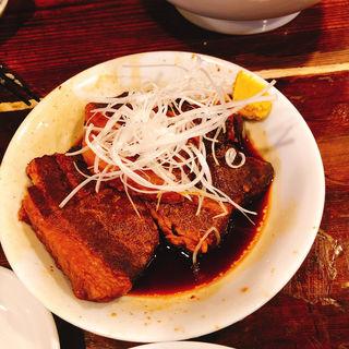角煮(かおたんラーメン えんとつ屋 南青山店)