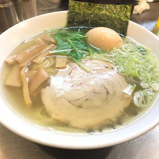 塩らーめん(めん屋 桔梗 銀座店 )