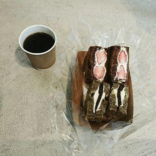 ほうじ茶とあんバターサンド(VIKING BAKERY F)