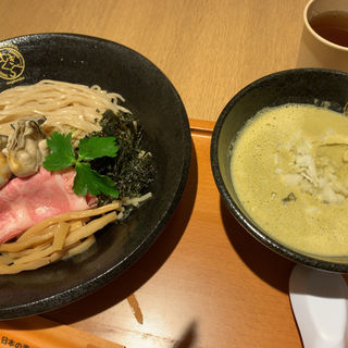 濃厚牡蠣つけそば(寿製麺 よしかわ)
