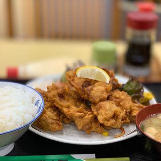 鳥の唐揚げ定食(さつき )