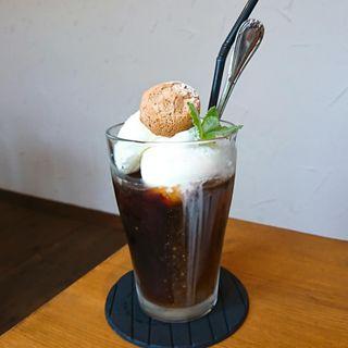 コーヒーフロート(mind coffee)