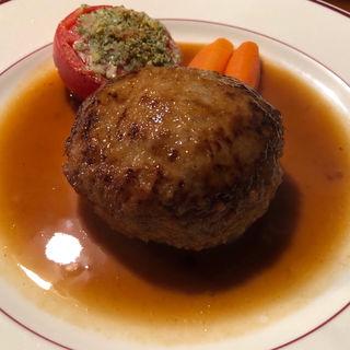 ねらないハンバーグ(南欧料理 アンジュ )