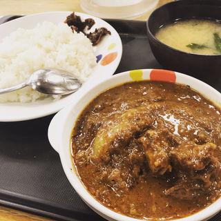 創業ハンバーグビーフカレー(松屋 成城学園前店 )