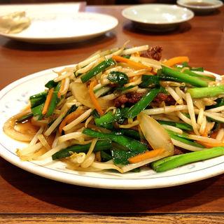 レバニラ炒め(高伸)