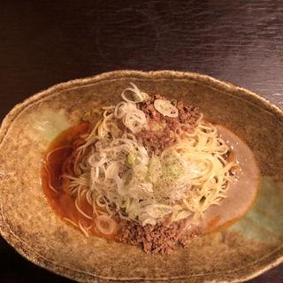 汁なし担々麺(中華そば くにまつ)