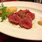 ブラックアンガス牛サガリ肉ステーキ