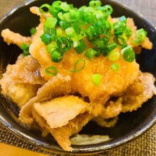 鶏皮ポン酢(ゆしま串本 本店)
