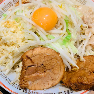 汁なしラーメン(ラーメン豚山 上野店)