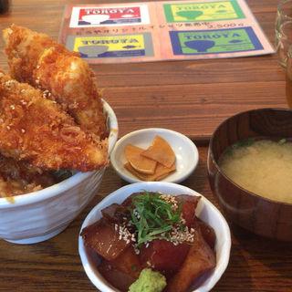 マグロカツ丼 7切