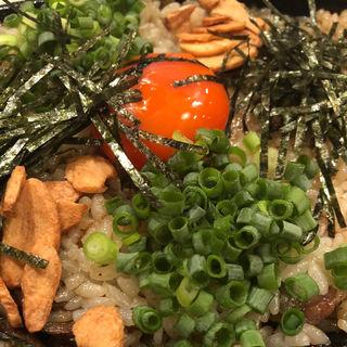 〆の焼きご飯(宮崎もも焼き専門店 太一)