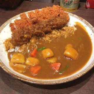 手仕込みとんかつカレー+野菜 3辛(カレーハウス CoCo壱番屋 中区伏見通店 (カレーハウス ココイチバンヤ))