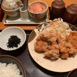鶏のから揚げ明太風味(やまや 博多店 )