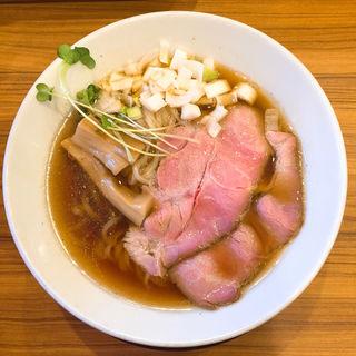 高級魚のどぐろ煮干と純系名古屋コーチンだけで作った中華そば」(中華そば ココカラサキゑ)