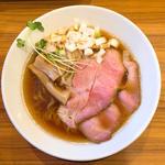 高級魚のどぐろ煮干と純系名古屋コーチンだけで作った中華そば」