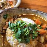 ハイダル薬膳カレーセット(サラダ・紅茶付)