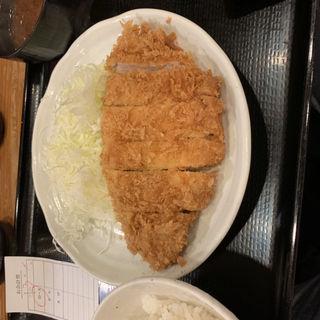 ロースカツ定食(とんかつ まるや 新橋烏森口店)