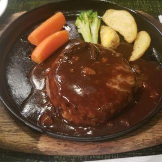 ハンバーグ(お肉の専門店 スギモト 東京ミッドタウン店 )