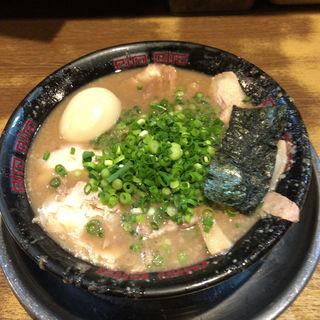 Wスープチャーシュー(無鉄砲大阪店 (むてっぽう))