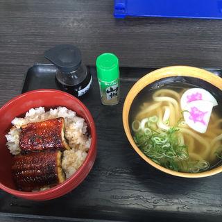 ミニうな丼 ミニうどん(資さんうどん諸岡店)