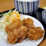 鶏の竜田揚げ定食(長者亭 )