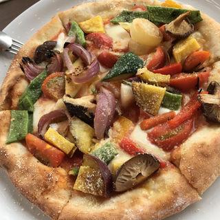 焼き野菜のピッツァ
