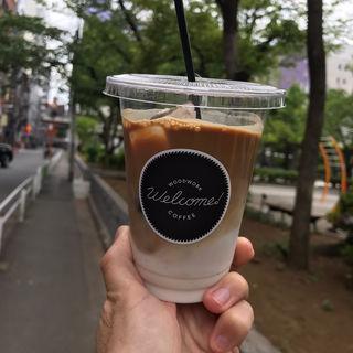 カフェラテ(Woodwork Welcome Coffee)