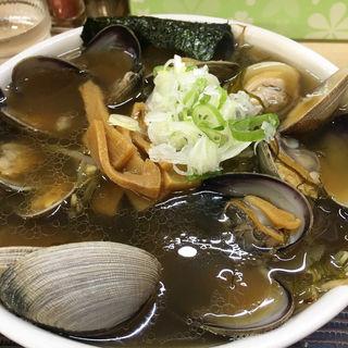 アサリラーメン こってり 魚醤味(らーめん工房 魚一 (うおっち))